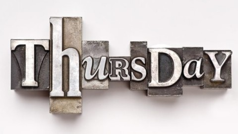 Your Week Begins on Thursday